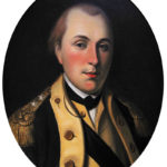 The young Marquis de Lafayette wears the uniform of a major general of the Continental Army. Painting by Charles Willson Peale.